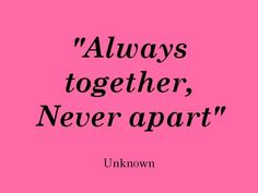 Always be together.  #Marriage #love #Relationships