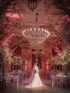 Casamento de Princesa - Decoração Wilma Freitas - Noivinhas de Luxo