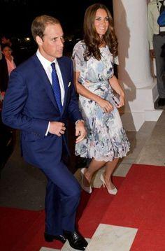 Prince William and Kate Middleton's Singapore and Diamond Jubilee tour wardrobe - Fashion Galleries - Telegraph