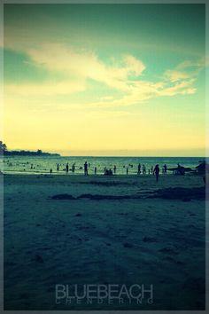 Chendering Beach. Kuala Terengganu. Terengganu. Malaysia