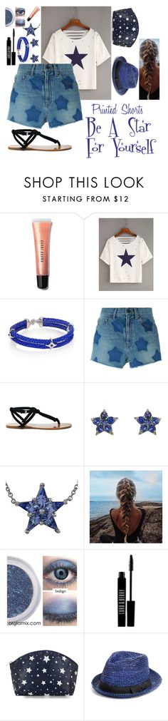 """Be A Star For Yourself"" by saphira-the-dragon ❤ liked on Polyvore featuring Bobbi Brown Cosmetics, StingHD, Yves Saint Laurent, Sole Society, Laura Lee, Tiffany & Co., Lord & Berry, John Varvatos * U.S.A. and printedshorts"