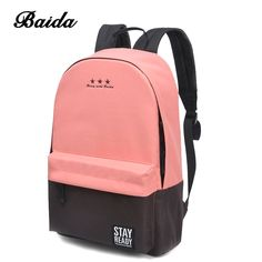 Cheap bags for school, Buy Quality laptop travel bag directly from China backpack fashion Suppliers: Fashion Backpack Women Children Schoolbag Back Pack Leisure Korean Ladies Knapsack Laptop Travel Bags for School Teenage Girls Girl Backpacks, School Backpacks, Casual Backpacks, Backpack Bags, Leather Backpack, Travel Backpack, Backpack 2017, Ladies Backpack, Laptop Backpack