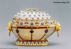 The Renaissance Egg, 1894  by Fabergé  #faberge