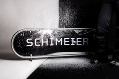 Identity for Schimeier, a ski rental shop in Seefeld, Austria in the middle of the Tyrolean alps. Design by Bureau Rabensteiner. www.bureaurabensteiner.at #identity #austria #design