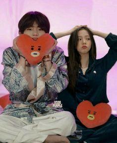 Rp 1, Ulzzang Korea, Kpop Couples, Cartoon Jokes, Blackpink And Bts, Ulzzang Couple, Blackpink Jisoo, Taekook, Korean Singer
