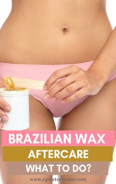 Suffering from rashes each time you have a brazilian wax? Want to change that? Here are some brazilian wax aftercare tips. Best Hair Removal Products, Hair Removal Methods, How Do You Remove, How To Get Rid, Brazilian Wax Tips, Waxing Aftercare, Upper Lip Waxing, At Home Waxing, Rashes Remedies