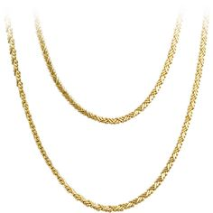 Pre-owned Cartier Long and Flexible Gold Necklace ($6,600) ❤ liked on Polyvore featuring jewelry, necklaces, accessories, chain, chain necklaces, yellow gold chain necklace, 18k necklace, antique jewelry, antique gold jewelry and gold necklaces
