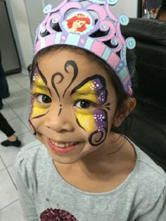 Amazing Butterfly Face Painting from our extremely talented face painter Face Painting Images, Face Painting Designs, Professional Face Paint, Butterfly Face Paint, Painting For Kids, Best Part Of Me, Toronto, Painters, Good Things