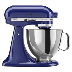 KitchenAid Artisan Series 5-Qt. Stand Mixer with Pouring Shield Cobalt Blue #LGLimitlessDesign #Contest