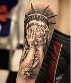 Statue-of-Liberty-Tattoo-Idea