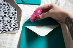 Peek-A-Boo Envelopes - 52 Weeks Project