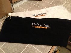 Golf towels make great gifts for clients