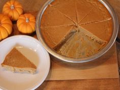 Crustless Pumpkin Pie - Lynn's Kitchen Adventures (Gluten Free and only 6 ingredients. Unless you count BOTH eggs. Then it's SEVEN ingredients.)