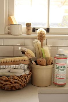 An Inventory of Cleaning Tools   Brushes, Brooms & Bristles   Homesong   Bloglovin'
