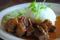 Bravčové mäso s omáčkou
