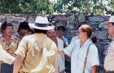 La embajadora fue clara y directa. Afirmó queEspaña podía ayudar a restaurar Fuerte Borbón, pero las estancias policiales eran responsabilidad de Paraguay.