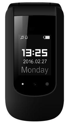 "YINGTAI T09 3G 2.4""Double Screen Big Button Big Volume Big Fonts with SOS Button Senior Phone (Black): Amazon.co.uk: Electronics"