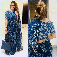 Sari Blouse Designs, Fancy Blouse Designs, Bridal Blouse Designs, Trendy Sarees, Stylish Sarees, Traditional Blouse Designs, Saree Wearing Styles, Stylish Blouse Design, Saree Models