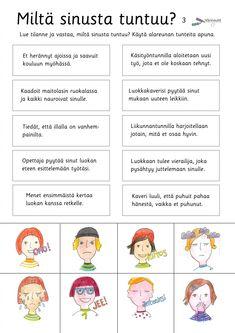 Tunne- ja kaveritaidot - Värinautit Finnish Grammar, Finnish Language, Education Humor, Primary Education, Educational Leadership, Educational Technology, Mobile Learning, Kids Learning, Learn Finnish