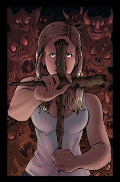 Buffy the Vampire Slayer by FableImpact.deviantart.com on @deviantART