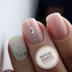 Nail Art Designs In Every Color And Style – Your Beautiful Nails Gorgeous Nails, Love Nails, Pretty Nails, Fun Nails, Glitter Manicure, Manicure E Pedicure, Gelish Nails, Bride Nails, Wedding Nails