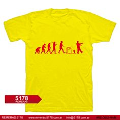 Remera RE 0062 HAM Zombie evolution | 5178