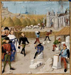 El enigmático mundo de los constructores medievales