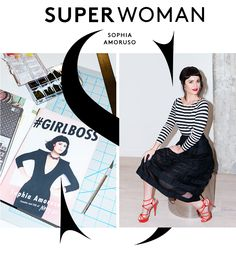 Sophia Amoruso Might Be The Scrappiest Superwoman We Know #Refinery29 // Love her outfit here