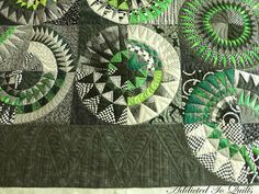 Addicted To Quilts: New York Beauty I don't think I've ever seen one done in just one color...interesting!
