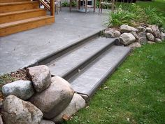 Concrete patios, Patio and Concrete patio designs on Pinterest