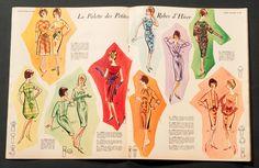 'VOTRE MODE-REFLETS DE PARIS' FRENCH VINTAGE MAGAZINE 1 DECEMBER 1960   eBay