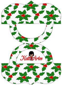 (PLASTIC BAG TOPPERS)-- KATIA ARTES - BLOG DE LETRAS PERSONALIZADAS E ALGUMAS COISINHAS: Alça Natalina para sacolinhas