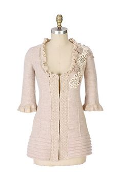 Havilland Sweater Coat #anthropologie