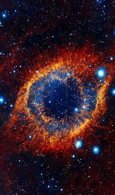 • This object, called the Helix nebula, lies 650 light-years away in the constellation of Aquarius. Also known by the catalog number NGC 7293, it is a typical example of a class of objects called...