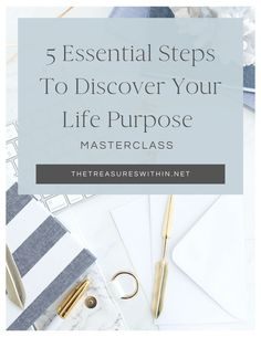 """Deep down, you know you're meant for something more than the 9-5 grind. It's time to find out what it is. This is the exact step-by-step process I used to go from """"I don't know what to do with my life"""" to """"I'm living my calling every day. Click pin to reserve your FREE seat #lifepurpose #findyourlifepurpose Discover Yourself, Finding Yourself, Event Registration, Life Purpose, Master Class, Your Life, Happy Life, Personal Development, How To Find Out"""