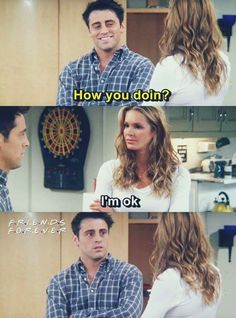 Joey is mortified,  that's the first time it hasn't worked poor Joey