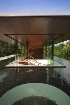 Water-cooled house in Singapore by Wallflower Architecture