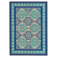 Feizy Willow Blue/Green Area Rug & Reviews | Wayfair