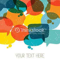 078f739a4b50c Stock vector of Background With Abstract Retro Grunge Speech Bubbles. Vector  Art by incomible from the collection iStock. Get affordable Vector Art at  ...