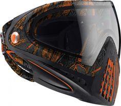 Dye i4 Pro Goggles - DyeTree Orange Closeout | Paintball Gear Canada