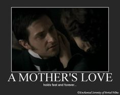 A Mother's love. This relationship between characters was one of my favorites in the series. Its portrayal was so touching.
