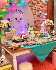 Girls Birthday Party Themes, 4th Birthday Parties, 1st Birthday Girls, Birthday Girl Pictures, Llama Birthday, Mexican Party, Birthday Party Decorations, First Birthdays, Baby Llama