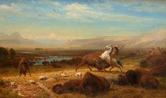 The Last of the Buffalo (Albert Bierstadt).