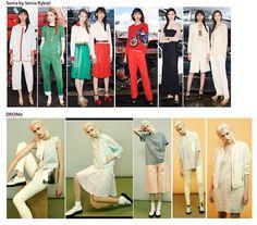Preview Spring Summer 2015 apparel, shoes and make up by Sonia by Sonia Rykiel, DROMe ----- pre-collezione moda trend Primavera Estate 2015 abbigliamento scarpe accessori e trucco