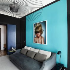 French designer Sarah Lavoine uses pops of color and color blocking to create stunning interiors.
