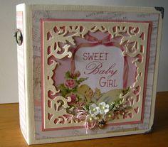 Artfull Crafts: Christine - Peek-a-Boo Baby Girl Mini Album