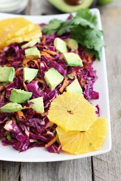Red cabbage citrus salad: Jessi's Kitchen