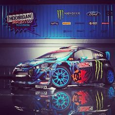 Ken Blocks tricked out Ford