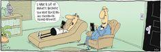 Anxiety. The Duplex on GoComics.com #humor #comics #facebook #socialmedia