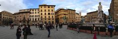 Loggia dei Lanzi November 2013, Florence Italy, Street View